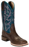 Women's All-Around Square Toe Autumn Boot, Wide, Hawaiian Blue