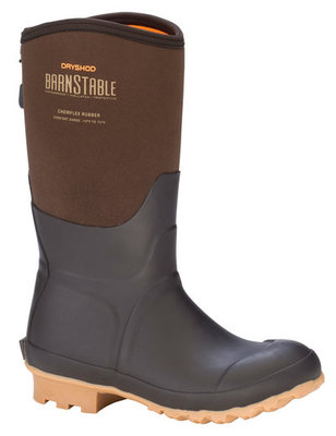 Women's Barnstable All Conditions Farm Mid Gum Boot, Brown/Peanut