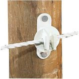 Wood/Vinyl Post Insulator For Wire, pkg of 25