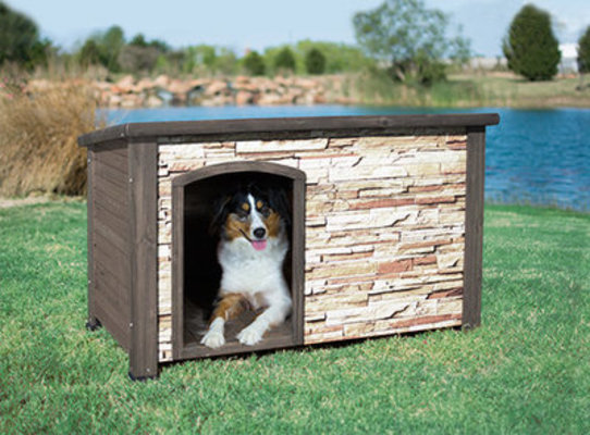 Large Woodstone Dog House