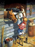 """""""Working Girl"""" 500 Piece Puzzle"""
