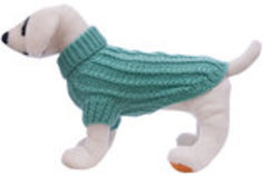 Cable Knit Dog Sweaters, X-Large