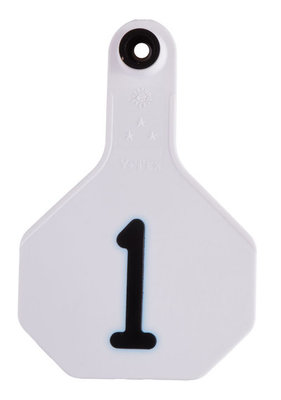 Y-Tex Numbered Ear Tags (Medium), 25 count