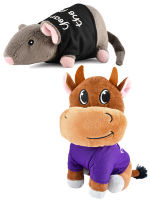 """2-pack """"Year of the..."""" (Chinese Zodiac) Toys"""