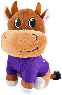 """Year of the Ox Plush Dog Toy, 8"""""""