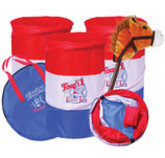 Youth Barrel and Stick Horse Set