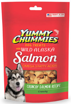 Yummy Chummies Salmon Crunchies,  4 oz