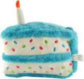 Zippy Paws Birthday Cake Plush Toy
