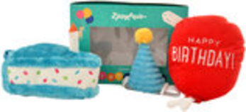 Zippy Paws 3-piece Birthday Box for Dogs