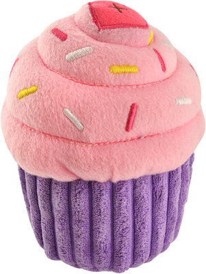 Zippy Paws Cupcake Plush Toy