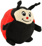 Zippy Paws Gabbles Musical Plush Toy, Ladybug