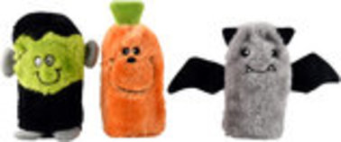 Zippy Paws Squeakie Buddies Halloween Dog Toy, 3-Pack