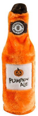 Zippy Paws Happy Hour Crusherz Dog Toy, Pumpkin Ale