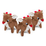 Zippy Paws Holiday Miniz Reindeer