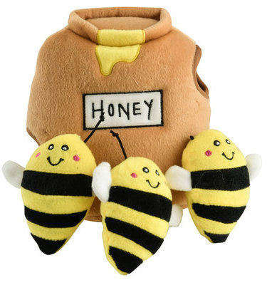 Zippy Paws Honey Pot Burrow with Bees