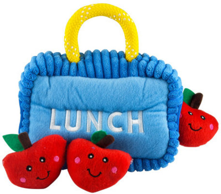 Zippy Paws Lunchbox Burrow with Apples