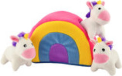 Zippy Paws Unicorns in Rainbow Burrow
