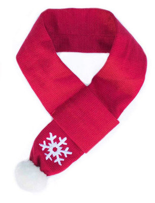Zippy Paws Winter Holiday Pet Scarves