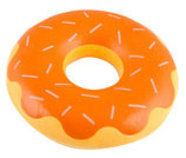 ZippyTuff Pumpkin Spice Donutz Dog Toy