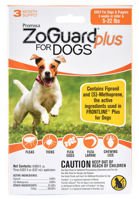 ZoGuard Plus for Dogs, 3 pack