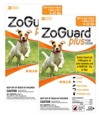ZoGuard Plus for Dogs, 6 pack
